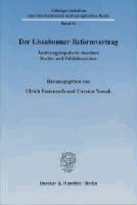 Der Lissabonner Reformvertrag - Änderungsimpulse in einzelnen Rechts- und Politikbereichen.