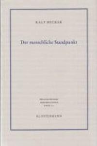 Der menschliche Standpunkt - Perspektiven und Formationen des Anthropomorphismus.
