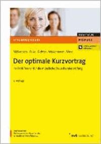 Der optimale Kurzvortrag - Ihr Profi-Trainer für die mündliche Steuerberaterprüfung.