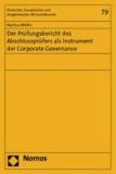 Der Prüfungsbericht des Abschlussprüfers als Instrument der Corporate Governance.