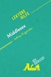 der Querleser - Middlesex von Jeffrey Eugenides (Lektürehilfe) - Detaillierte Zusammenfassung, Personenanalyse und Interpretation.