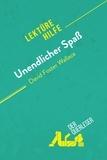 der Querleser - Unendlicher Spaß von David Foster Wallace (Lektürehilfe) - Detaillierte Zusammenfassung, Personenanalyse und Interpretation.