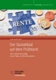 Der Sozialstaat auf dem Prüfstand - Zehn Unterrichtvorschläge für den Politik- und Ökonomieunterricht. Trappen-Texte Band 6.