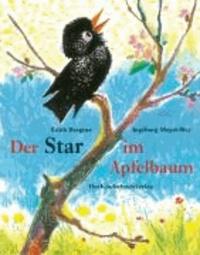 Der Star im Apfelbaum.