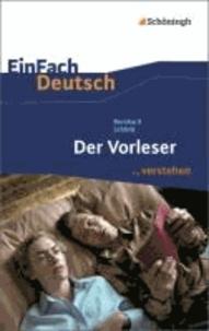 Der Vorleser. EinFach Deutsch ...verstehen.