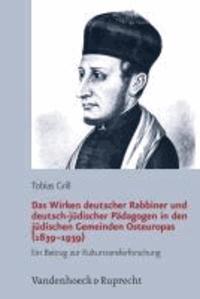 Der Westen im Osten - Deutsches Judentum und jüdische Bildungsreform in Osteuropa (1783-1939).