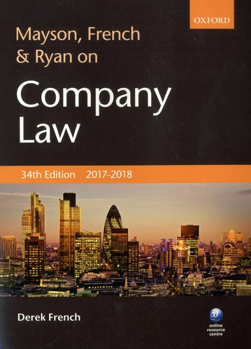 Derek French - Mayson, French & Ryan on Company Law.