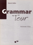 Derek Sellen - Grammar Tour - Answer Key.