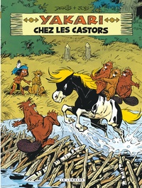 Derib et  Job - Yakari Tome 3 : Yakari chez les castors.