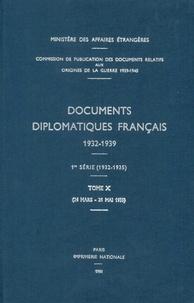 Des affaires étrangères Ministère - Documents diplomatiques français - 1935 – Tome II (24 mars – 31 mai).