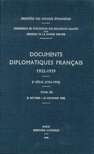 Des affaires étrangères Ministère - Documents diplomatiques français - 1938 – Tome V (2 octobre – 30 novembre).
