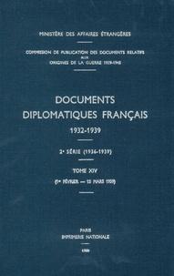 Des affaires étrangères Ministère - Documents diplomatiques français - 1939 – Tome I (1er février – 15 mars).
