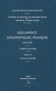 Des affaires étrangères Ministère - Documents diplomatiques français - 1939 – Tome III (1er mai – 24 juin).