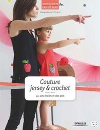 Des étoiles et des pois - Couture jersey & crochet.