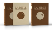 Desclee-Mame - La Bible : traduction officielle liturgique - Edition cuir marron.