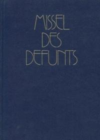 Desclee-Mame - MISSEL DES DEFUNTS. - Funérailles, Messes des défunts.