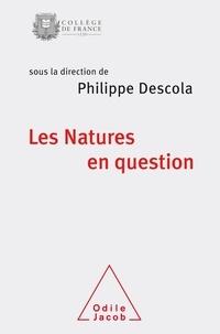 Descola - Les natures en question - Colloque annuel 2017.