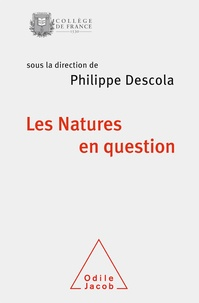 Descola - Les natures en question - Colloque annuel 2017.