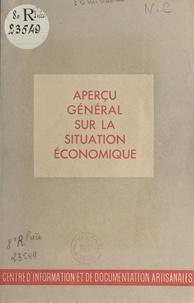 Desemberg - Aperçu général sur la situation économique et réorganisation des comités d'organisation - Conférence.