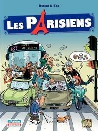 Désert et  Fab - Les parisiens Tome 1 : .