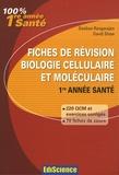 Desikan Rangarajan et David Shaw - Fiches de révision en biologie cellulaire et moléculaire - Rappels de cours, QCM et QROC corrigés.