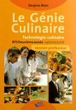 Despina Blain - Le génie culinaire BTS 2e année options A et B - Version professeur.