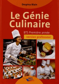 Le génie culinaire BTS première année - Version professeur.pdf
