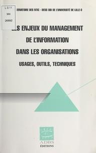 Dess Sid Lille Iii et  Observatoire des NTIC - .