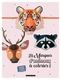 Dessain et Tolra - 24 masques animaux à colorier !.