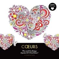Dessain et Tolra - Coeurs - Mon carnet de coloriages et pensées 100 % bonne humeur !.