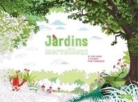 Jardins merveilleux - 55 sous-mains à colorier pour sorganiser.pdf