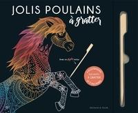 Dessain et Tolra - Jolis poulains - 6 illustrations tendres à gratter et à encadrer.