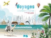 Era-circus.be Voyages extraordinaires - 55 sous-mains à colorier pour s'organiser Image