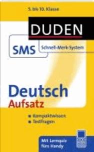 Deutsch Aufsatz - 5. bis 10. Klasse.