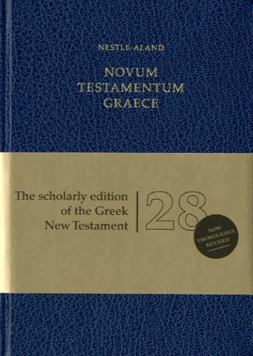 Deutsche bibelgesellschaft - Novum testamentum graece.
