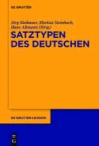 Deutsche Satztypen.