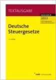 Deutsche Steuergesetze.
