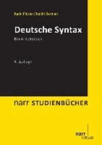 Deutsche Syntax - Ein Arbeitsbuch.