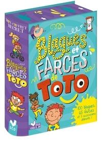 Deux Coqs d'or - Blagues et farces de Toto - 100 blagues, 65 farces et 5 accessoires délirants !.