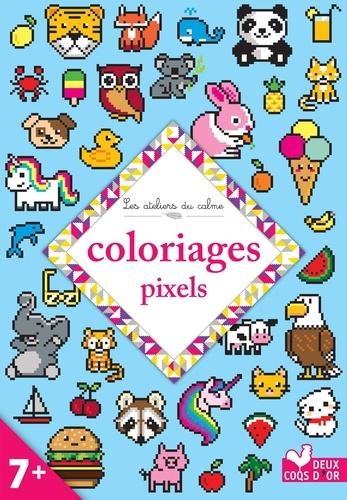 Coloriages Pixels Grand Format