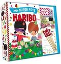 Deux Coqs d'or - Ma super fête Haribo - Coffret un livret de recettes et des accessoires.