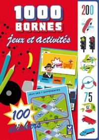 Deux Coqs d'or - Mille bornes - Jeux et activités + 40 autocollants.