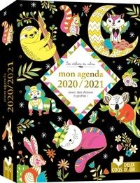 Deux Coqs d'or - Mon agenda avec des stickers à gratter !.