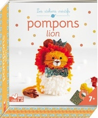 Deux Coqs d'or - Pompons lion - Mini-boîte avec accessoires.
