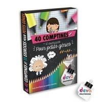 Deva Jeunesse - 40 comptines et 10 exercices pour petits génies.