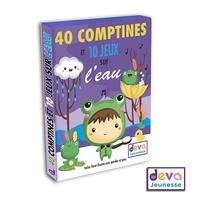 Deva Jeunesse - 40 comptines et 10 jeux au fil de l'eau.