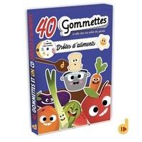 Deva Jeunesse - Drôles d'aliments - 40 gommettes. 1 CD audio MP3