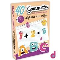 Deva Jeunesse - L'alphabet et les chiffres - Avec 40 gommettes.