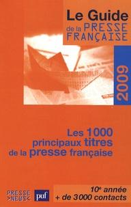 Développement Presse Médias - Le guide de la presse française - Les 1 000 principaux titres de la presse française.