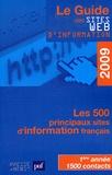 Développement Presse Médias - Le guide des sites web d'information 2009.